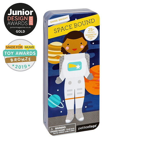 Space Bound Magnetic Play Set