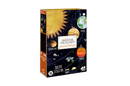 Glow in the Dark Discover the Planets Puzzle