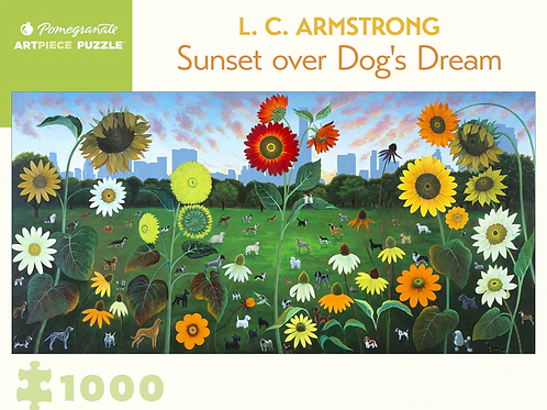 Sunset Over Dog's Dream 1000 Piece Puzzle