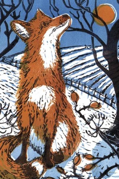 Winter Fox Notecards