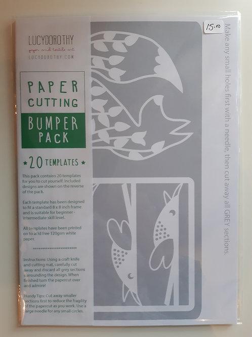 Paper Cutting Bumper Template Pack (20)