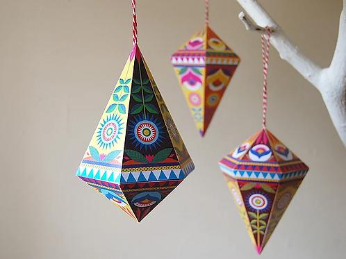 Folk Gems DIY Decorations Kit