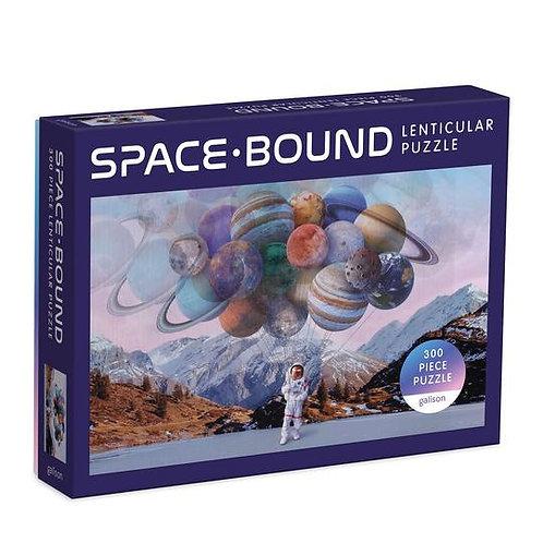 Space Bound 300 Piece Lenticular Puzzle