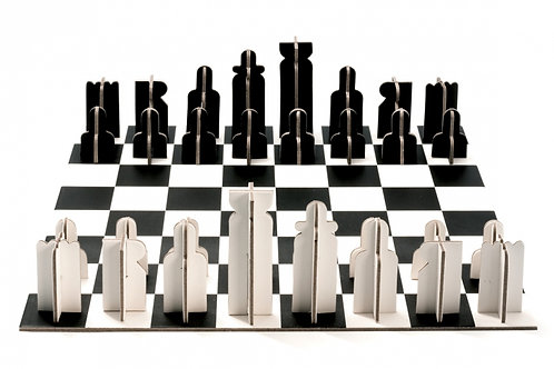 Carboard Chess Set