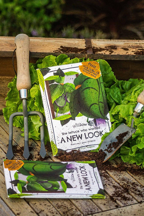 The Lettuce Who Wanted a New Look Seed Book