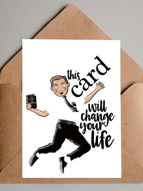 Book of Mormon Greetings Card