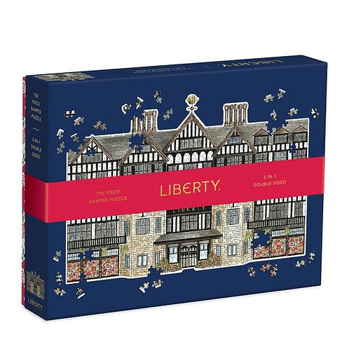 Liberty of London 750 Piece Shaped Puzzle