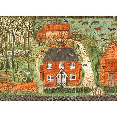 Farm Cottages Card