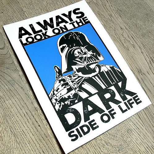 Dark Side A4 Open Edition Signed Print