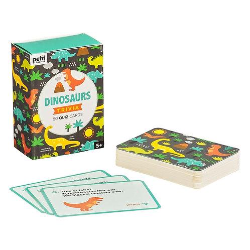 Dinosaur Trivia Card Game