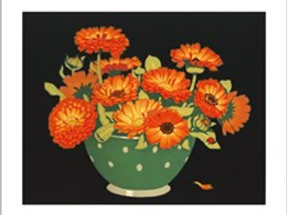 Marigolds Card