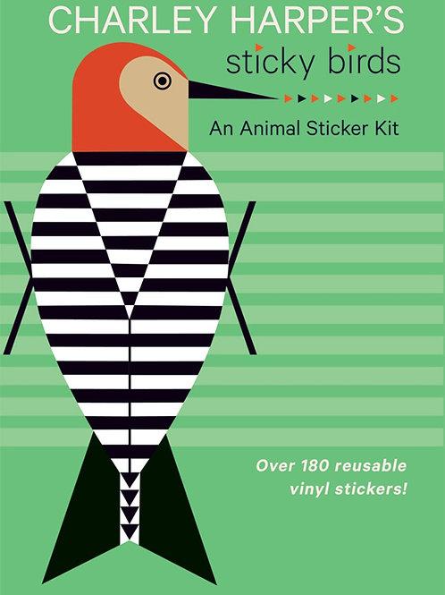 Charley Harper Sticky Birds