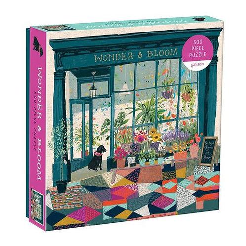 Wonder & Bloom 500 Piece Puzzle