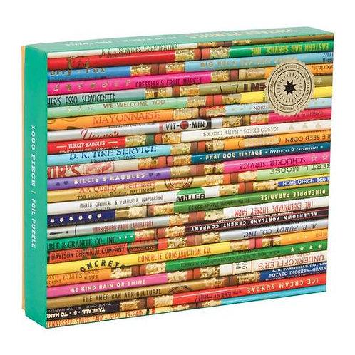 Vintage Pencils 1000 Piece Puzzle