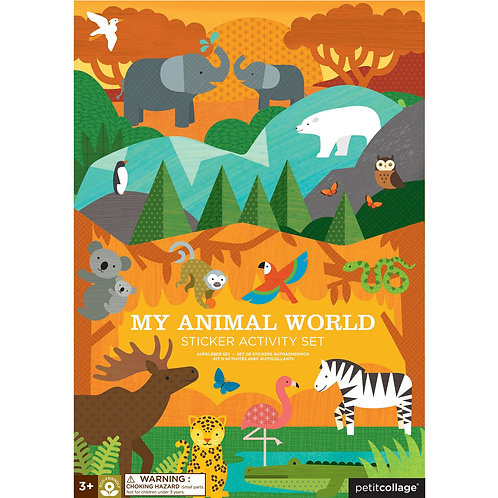 My Animal World Sticker Activity Set