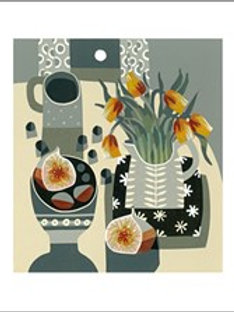 Tulips & Fig Card