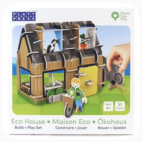 Eco House Eco Friendly Playset