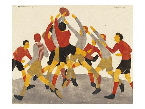 Football 1936 Card