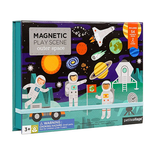 Magnetic Play Scene: Outer Space