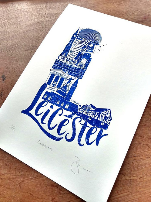 Leicester A3 Limited Edition (250) Print