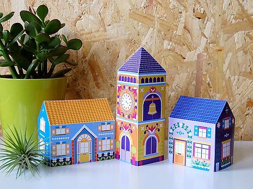 Little Houses DIY Decor Pack