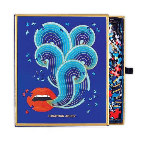 Jonathan Adler 750 Piece Lips Shaped Puzzle