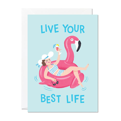 Live Your Best Life card