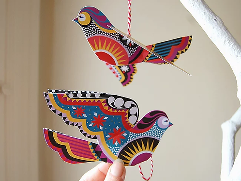 Little Birds DIY Decor Pack