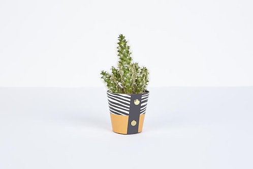Wood Plant Pot Cover (Small)