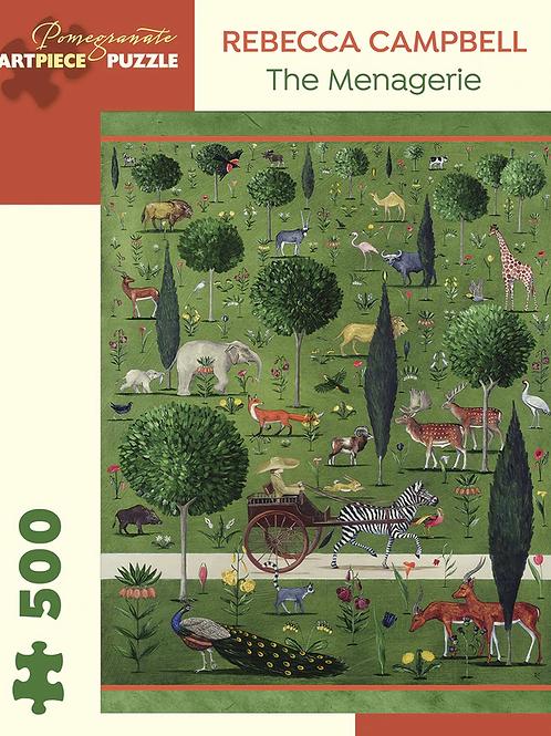 The Menagerie 500 Piece Puzzle