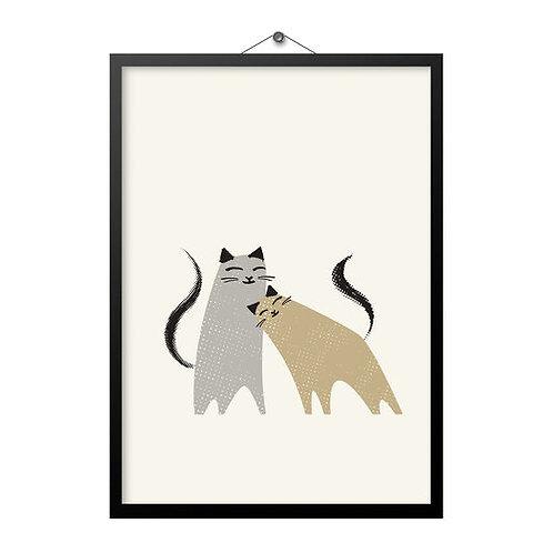 Love Cats A4 Print
