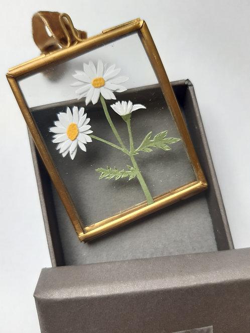 Daisy 2 Paper Cut Mini Frame