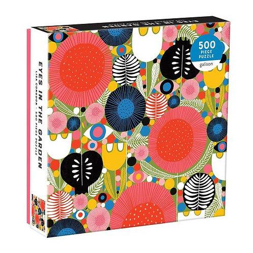 Eyes In The Garden 500 Piece Puzzle