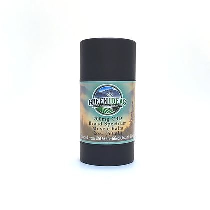Broad Spectrum 200mg CBD Muscle Balm
