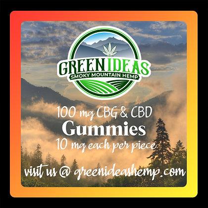 100mg CBD & CBG Gummies