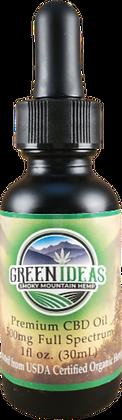500mg Full Spectrum CBD Oil w/ Olive Oil