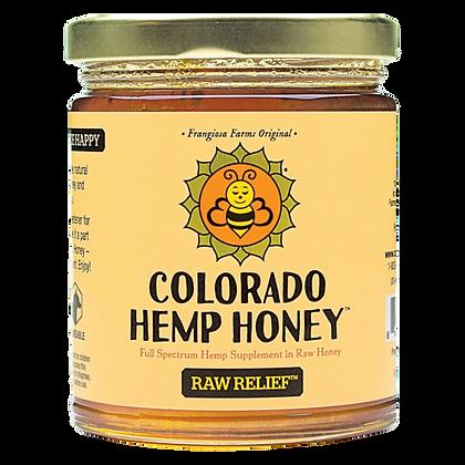 Raw Relief Honey Jar