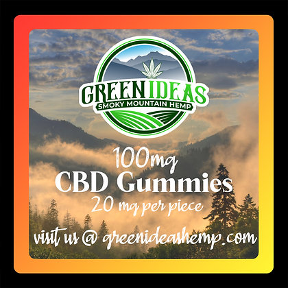 100mg CBD Gummies