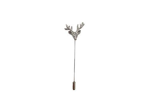 Reindeer lapel pin