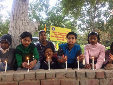 Candlelight Vigil for Martyrs of Pulwama