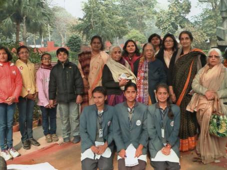 Celebrating the 2014 Gandhi Jayanti at Gandhi Museum, Delhi
