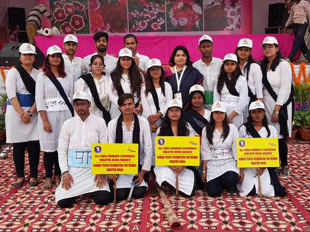 Participation at Noida Flower Show, 2020
