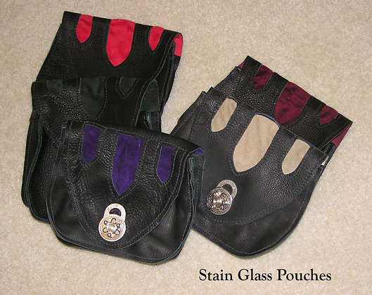 Stained Glass Pouch