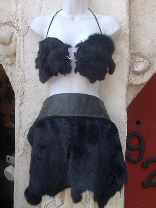 Bunny Fur Skirts