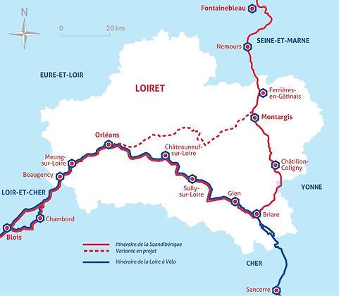 Ouzouer-sur-Trézée-Circuit vélo