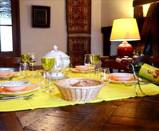 Les logis du plat d'étain-Diner
