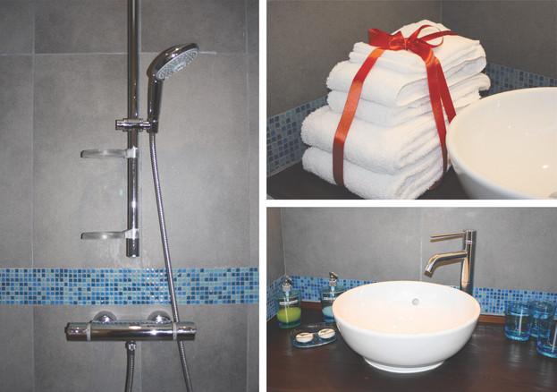Les logis du plat d'étain-Salle de bain