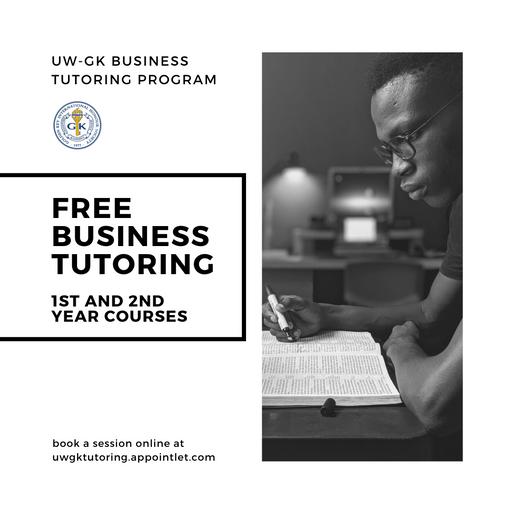FREE Business Tutoring!