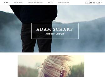 Art Director Portfolio Website Template Wix