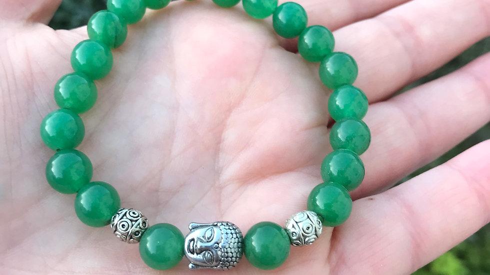 Jade Buddha Reiki Bracelet
